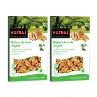 Nutraj - Super Walnut Kernels - 250G (Pack Of 2)