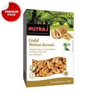Nutraj - Gold Walnut Kernels - 250g - Vacuum Pack
