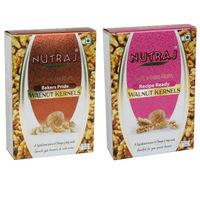 Nutraj Recipe Ready & Bakers Pride Walnut Kernels - 250 Gms (Pack of 2) - Vacuum Pack