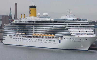 Kapal Pesiar Costa Luminosa. / cruisemapper.com\n