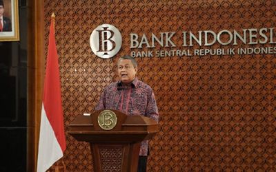Gubernur Bank Indonesia Perry Warjiyo. / Facebook @BankIndonesiaOfficial\n