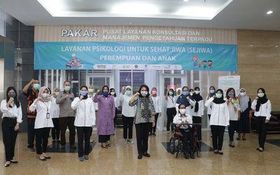 Menteri Pemberdayaan Perempuan dan Perlindungan Anak, Bintang Puspayoga sangat mengapresiasi dan men...