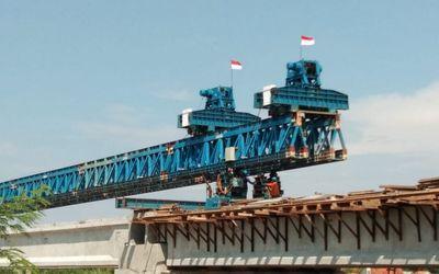 Pengerjaan proyek infrastruktur oleh Kementerian PUPR. / Dok. Kementerian PUPR\n