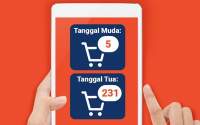 Transaksi belanja online meningkat saat pandemi COVID-19. / Facebook @ShopeeID\n