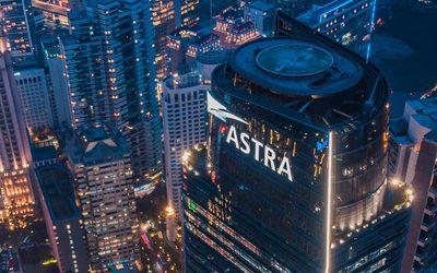Menara Astra milik PT Astra Internasional Tbk. / Astra.co.id\n