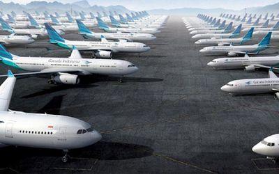 Pesawat Garuda Indonesia. / Garuda-indonesia.com\n