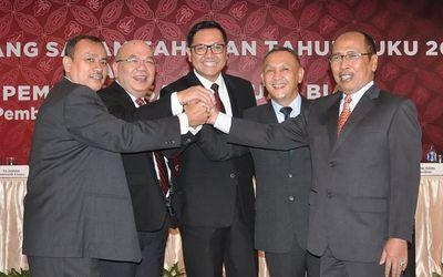 Susunan Direksi PT Bank Pembangunan Daerah Banten Tbk. (BEKS) yang disahkan oleh Rapat Umum Pemegang...