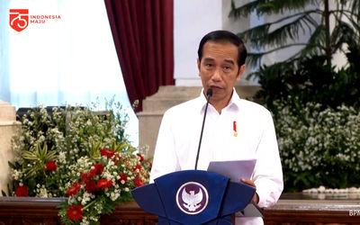 Presiden RI, Joko Widodo, / Sumber: Tangkapan layar TrenAsia.com\n