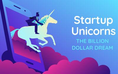 Ilustrasi perusahaan rintisan alias stratup Indonesia yang menyandang gelar unicorn dan decacorn pad...