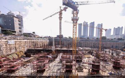 Salah satu proyek konstruksi PT Acset Indonusa Tbk. / Astra.co.id\n