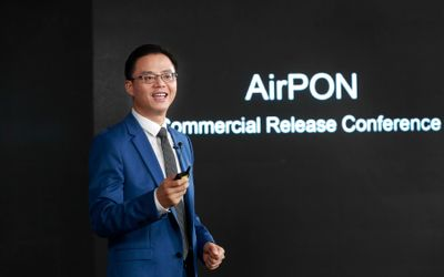 President of Network Marketing & Solution Sales Dept, Huawei, Gary Lu / Dok. Huawei\n