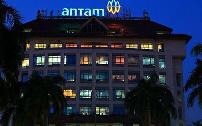 Gedung BUMN PT Aneka Tambang (Persero) Tbk alias Antam / Facebook @OfficialAntam\n