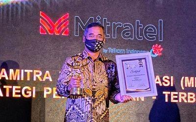 Direktur Utama PT Dayamitra Telekomunikasi (Mitratel) Herlan Wijanarko / Facebook @Mitratel\n