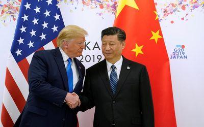 Presiden AS Donald Trump dan Presiden China Xi Jinping / Reuters\n