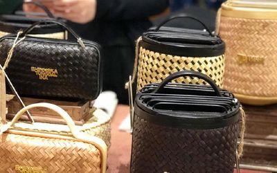 Tas mewah produksi UMKM perempuan Du Anyam yang berasal dari Nusa Tenggara Timur (NTT) / Dok. Du Any...