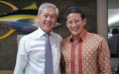 Konglomerat Edwin Soeryadjaya dan Sandiaga Salahuddin Uno sebagai pemilik perusahaan investasi PT Sa...