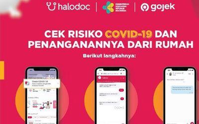 Startup telemedis Halodoc hasil kerja sama Kementerian Kesehatan dan Gojek menyediakan tes COVID-19 ...