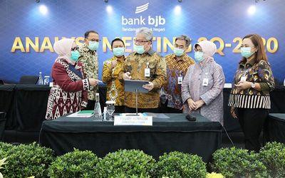 Paparan publik PT Bank Pembangunan Daerah Jawa Barat dan Banten Tbk (BJBR) atau Bank BJB / Dok. BJB\n