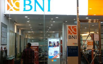 Kantor Bank BNI cabang Bursa Efek, Jakarta,. Foto: Ismail Pohan/TrenAsia\n