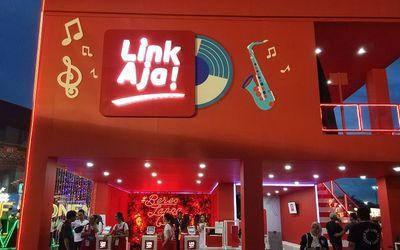 Dompet digital LinkAja dari PT Fintek Karya Nusantara (Finarya) / Twitter @linkaja\n