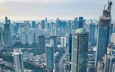 Autograph Tower Superblock Thamrin Nine di Jakarta bakal menjadi gedung tertinggi di Indonesia / Sky...