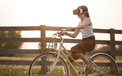 Ilustrasi virtual reality. Dok: Pexels.\n