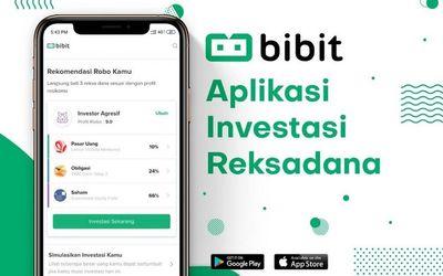 Start up investasi reksa dana Bibit / Bibit.id\n
