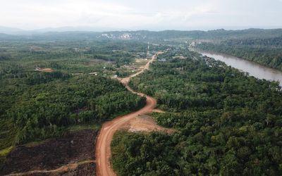 Pembangunan infrastruktur jalan di Kalimantan Utara / Dok. Kementerian PUPR\n