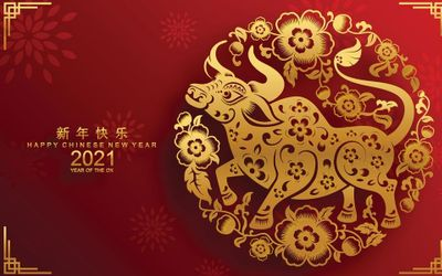 Tahun 2021 adalah Shio Kerbau Logam / id.pinterest.com\n