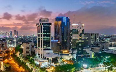 Gedung PT Indosat Tbk (ISAT) di Jakarta Pusat / Dok. Indosat Ooredoo\n