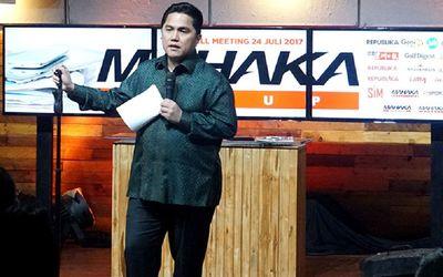 Erick Thohir pemilik Mahaka Media Group / Dok. Mahaka Media\n