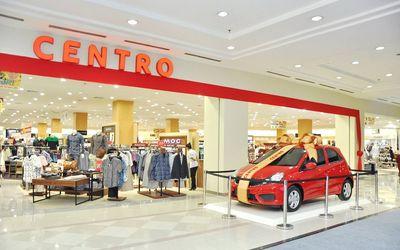 Ritel modern Centro Departement Store di Mal Ambarukmo Yogyakarta / Facebook @centroholic\n