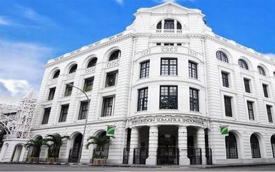 Gedung bersejarah milik PT PP London Sumatra Indonesia Tbk (LSIP) dengan pemegang saham utama konglo...