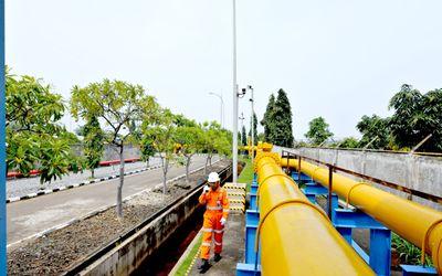 Jaringan Pipa Gas PGN / Dok. PT PGN  Tbk\n