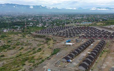 Pembangunan hunian tetap untuk gempa Sulteng tersebar di sembilan lokasi, yakni di Salua sebanyak 63...