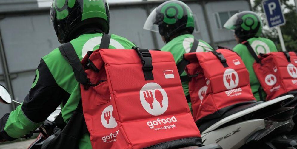 Tas Khusus untuk Pengantaran GoFood. / Gojek.com\n