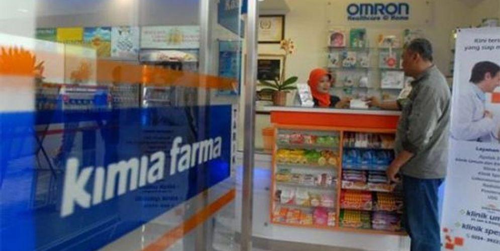 Apotek Kimia Farma / Sumber: id.pinterest.com\n