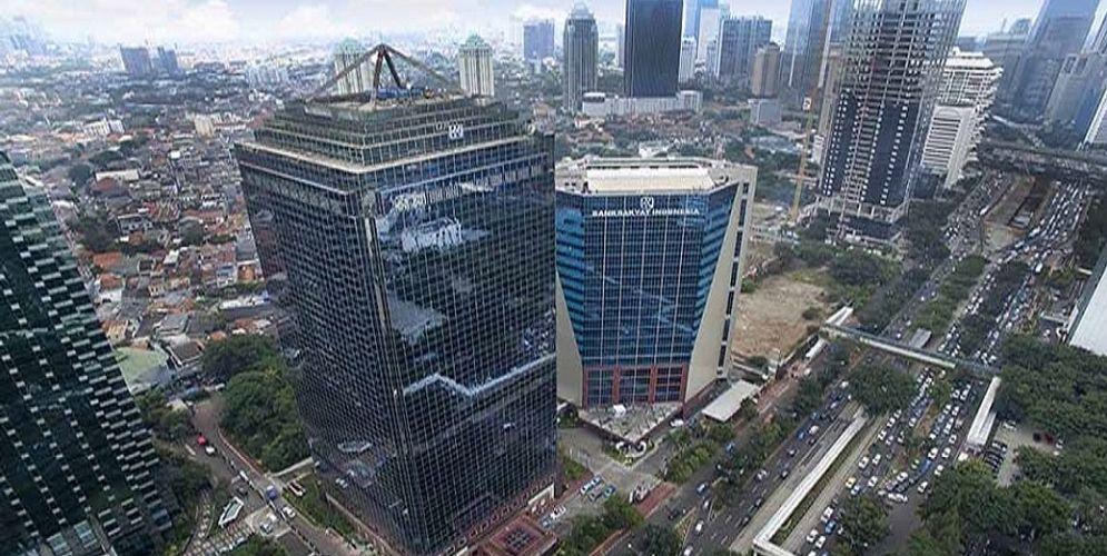 Gedung BRI di Kawasan Sudirman, Jakarta Pusat. / Bri.co.id\n