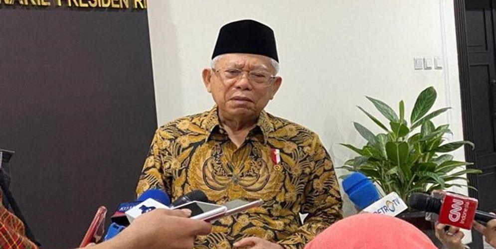 Wakil Presiden Ma'ruf Amin /Foto:merahputih.com\n