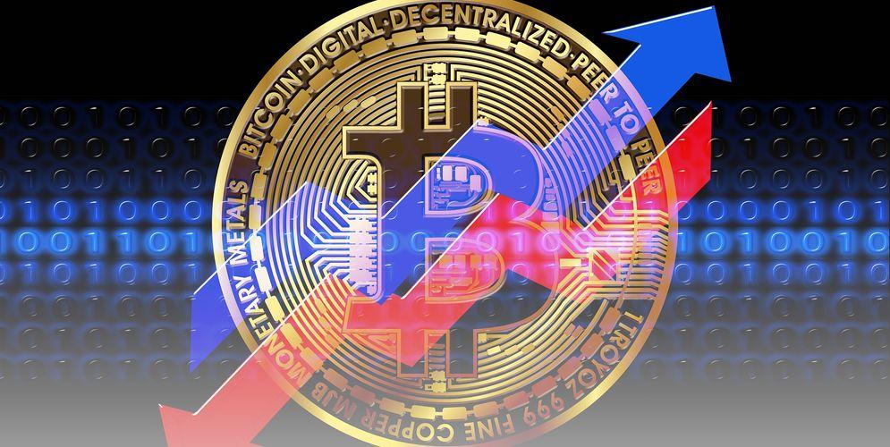 Ilustrasi Trading Bitcoin / Pixabay.com\n