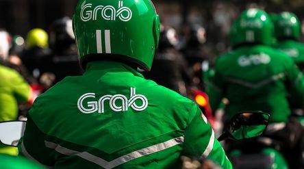 Ojek online Grab. / Facebook @GrabID\n