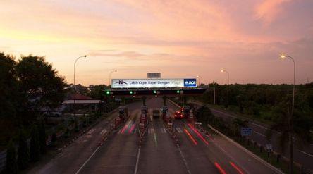 Jalan tol yang dikelola oleh PT Nusantara Infrastructure Tbk. / Dok. META\n