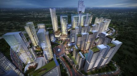 Ilustrasi industri properti. / Dok. PT Pollux Properti Indonesia Tbk\n