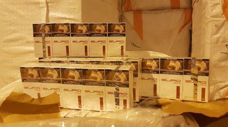 Rokok ilegal di Sidoarjo/ Sumber: beacukai.go.id\n