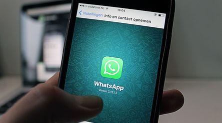 Aplikasi WhatsApp. / Pixabay\n
