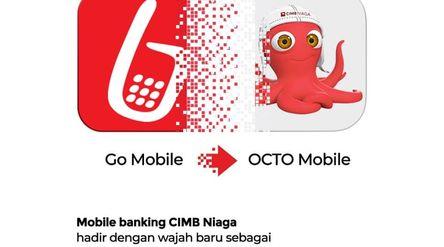 Transformasi OCTO Mobile CIMB Niaga (Sumber: Facebook CIMB Niaga)\n