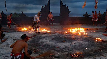 Provinsi Bali resmi ditutup demi mengurangi penyebaran wabah virus corona. / Pixabay\n