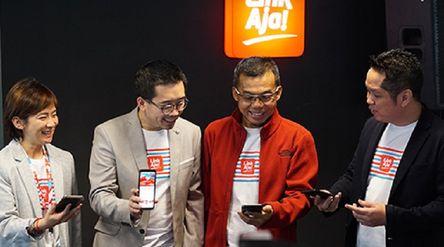Manajemen Fintek Karya Nusantara (Finarya) yang mengoperasikan dompet digital LinkAja. / Linkaja.id\n