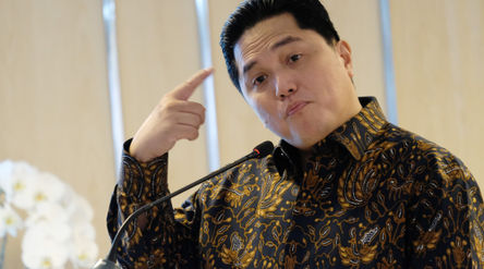 Menteri BUMN, Erick Thohir. Foto: Ismail Pohan/TrenAsia\n