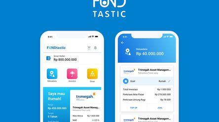 Aplikasi perencanaan keuangan FundTastic. / Fundtastic.co.id\n